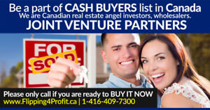 Canadian Cash Buyers in Cornwall