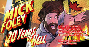 WWE legend Mick Foley LIVE in Moncton!