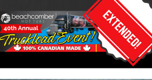 We've extended our Truckload Event