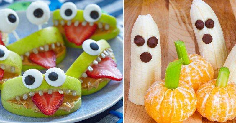 Fun Halloween Party Food Treats for Kids.