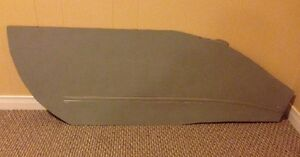 HO Scale Model Train Custom Built Concrete Siding Section