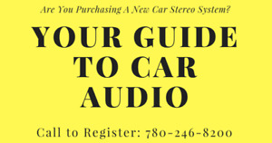 Do you need a new car stereo?