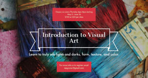 Intro to visual art 6 week course