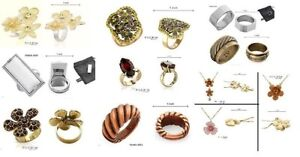HUGE LOT -RINGS -NECKLACES -ACCESSORIES- QUALITY BRAND JEWELERY
