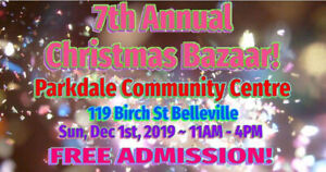 7th Annual Christmas Bazaar!