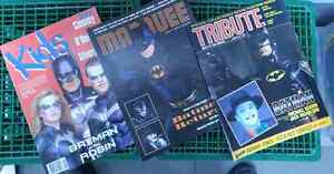 COLLECTION OF 3 VARIOUS BATMAN THEMED MOVIE MAGAZINES