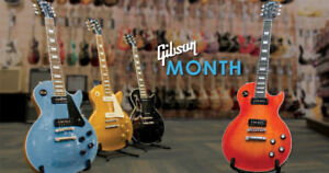 April is Gibson Month At Long & McQuade