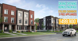 Town Homes in Oshawa Starting from $499,900