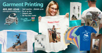 Garment Printing- Small Quantities at Affordable Prices- T's