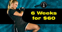 6 Weeks of Unlimited Training for $60