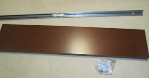 IKEA MALM footboard double size and hardware, brown