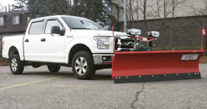 Western HTS Snow Plow - Excellent Condition