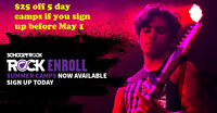 Save $25 Before May 1 on Summer Rock Camp