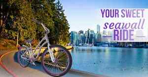 Be the cutest one cruising the seawall with this bike!