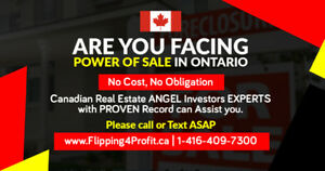 Are you Facing Power of Sale in Norfolk County