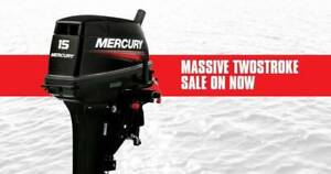 """15hp Mercury Outboard Super Model """"Brand New With 6yrs Warranty"""""""