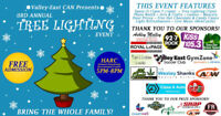 Tree Lighting Event - Presented by VECAN