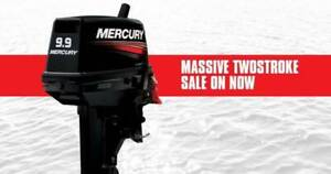 """9.9hp Mercury Outboard Lightweight """"Brand New With 6yrs Warranty"""""""