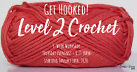 Level 2 Learn to Crochet Class at Creative Haven YXE