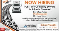 Company PROFESSIONAL Drivers **Sign on Bonus!!