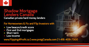 Shadow Mortgage Lenders for Renfrew Properties