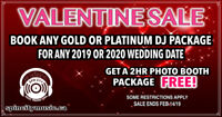 DJ / Photo Booth Valentine Sale