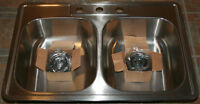 Brand New Double Bowl Stainless Kitchen Sink