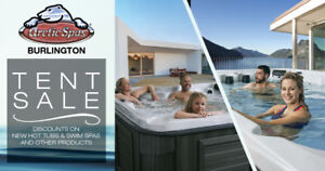 Arctic Spas Tent Sale Starting May 3rd
