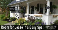 Room for Lease in Busy Spa