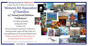 The Women's Art Association of Hamilton 123rd Annual Art SHOW