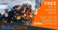 Contractors & Sub-Contractors Needed, Visit JobsDone.ca
