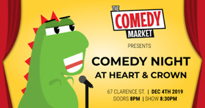 Comedy Night at Heart & Crown