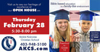 OPEN HOUSE - Preschool to Grade 12