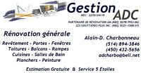 RÉNOVATIONS - GESTION ADC