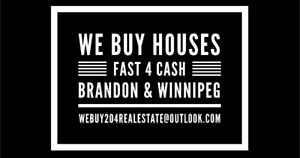 WE BUY HOUSES - FAST 4 CASH!