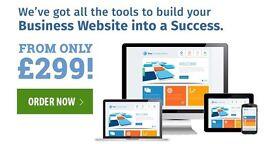 EXPERT WEB DESIGN | GET A WEBSITE FOR ONLY £299 | 10% OFF