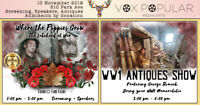 Where The Poppies Grow: WW1 Antique Show