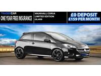 VauxhallCorsa 1.4i 2016 Limited Edition - FREE INSURENCE