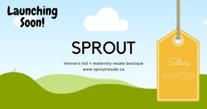 Sprout Resale - Vernon's NEWEST kids & maternity boutique