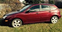 2007 Ford Focus SES hatchback w winters & all seasons