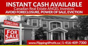 Instant Cash available for your house in North Bay