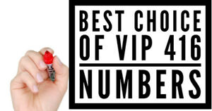 416 V.I.P Mobile Numbers