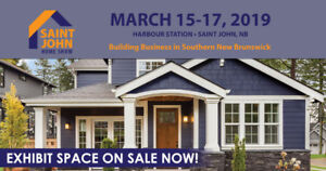 Exhibit Space Available Now at the 2019 Saint John Home Show
