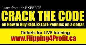 Investors LIVE  Real Estate Seminar Kingston