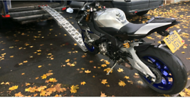 Motorcycle motorbike recovery