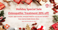 Osteopathic Treatment 20% Christmas Sale!