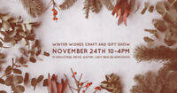 Craft and Vendor Show November 24th 10-4pm