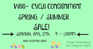 Childrens Consignment Sale  April 27th -- Tantallon