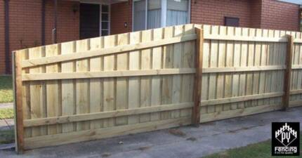 paling fence, fencing work, fencer