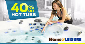 Hot Tub & Swim Spa End of Season Sale!